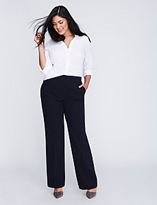 Sophie Tailored Stretch Pinstripe Trouser