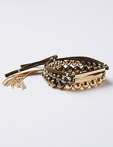 3-Row Bracelet Set