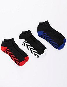 Chevron Sport Socks 3-Pack