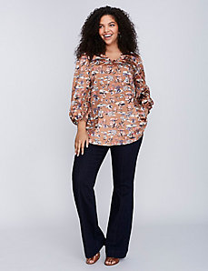 70s Blouse by Melissa McCarthy Seven7