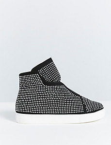 Studded High-Top Sneaker