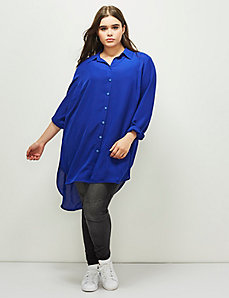 6th & Lane Button-Down Tunic