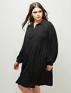 6th & Lane Pleated Shirtdress