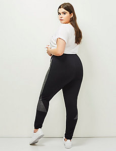 6th & Lane Pieced Ponte Legging