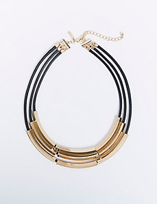 3-Layer Cord Necklace