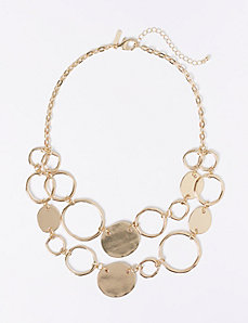 Short 2-Layer Circle Necklace