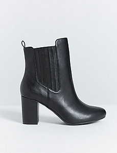 Mid-Height Ankle Boot