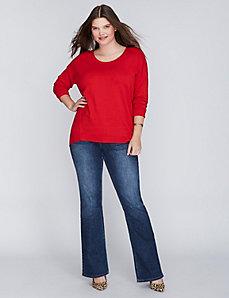 Scoop-Neck Sweater