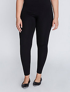 Ribbed Fleece Legging