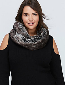 Faux Fur Eternity Scarf