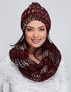 Marled Knit Hat