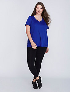 Wicking V-Neck Active Tee