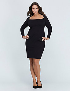 Ponte Sheath Dress