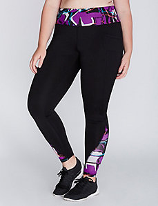 Wicking Active Leggings with Brushed Fabric & Pockets