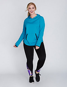 Wicking Fleece Active Hoodie