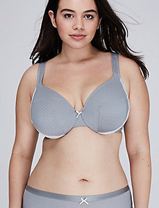 Smooth Full Coverage Bra with Lace