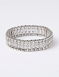 Thin CZ Stretch Bracelet