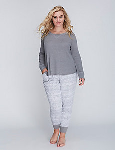 Long-Sleeve Thermal Sleep Top