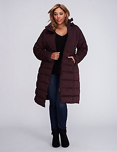 Quilted Maxi Puffer Coat