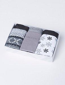 Sassy Cotton Full Brief Panty Set of 3