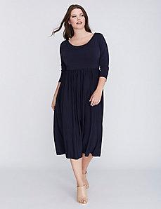 Laced-Back Dress