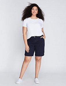 Patch-Pocket Bermuda Short