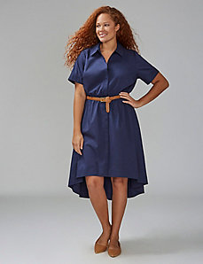 High-Low Shirtdress