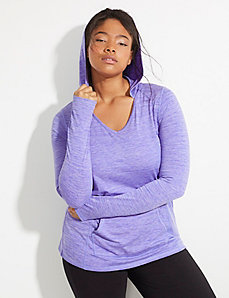 Wicking Active Pullover Hoodie