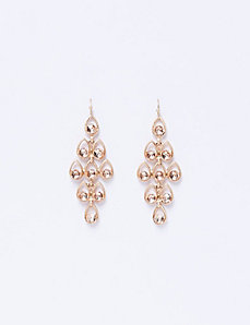 Waterfall Earrings with Blush Stones
