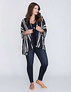 Lightweight Striped Kimono