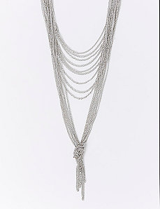 2-Tiered Multi-Chain Necklace
