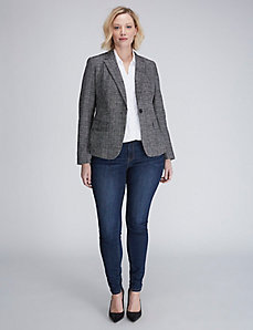 The Modernist Crosshatch Blazer