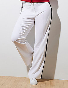 Lena Tuxedo Stripe Trouser by GLAMOUR X LANE BRYANT