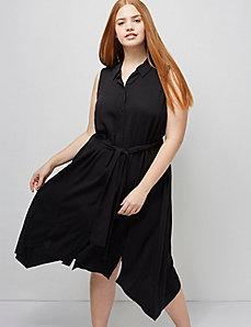 6th & Lane Sleeveless Shirtdress