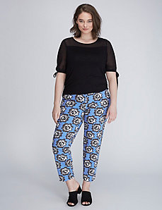 The Modernist Lena Printed Ankle Pant