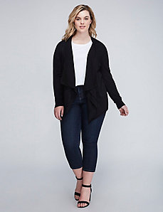 Flyaway Overpiece with Chiffon Layer