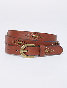 Thin Studded Belt