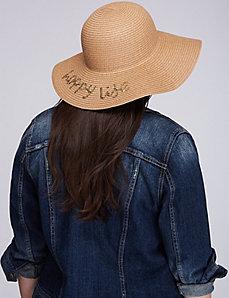 Happy Life Woven Hat