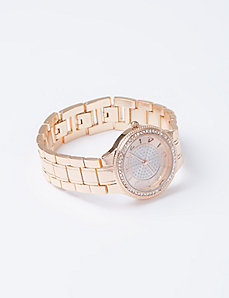 Bling Rose Gold Watch