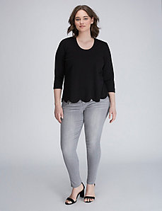 Scallop-Edge Top by Melissa McCarthy Seven7
