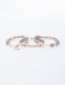 3-Row Stretch Bracelet Set