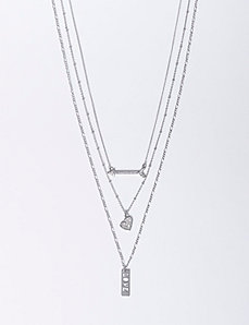 3-in-1 Charm Necklace