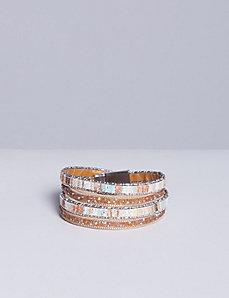2-Row Wrap Bracelet