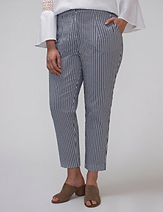 Striped Ankle Pant