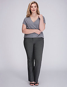 Allie Sexy Stretch Dot Boot Pant