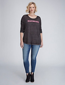 Heartbreaker Graphic Long-Sleeve Tee