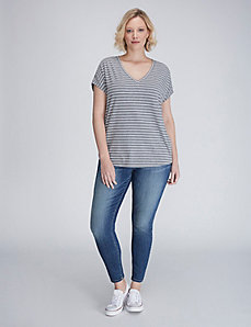 Striped Bedford Tee