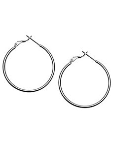 Classic hoop earrings by Lane Bryant