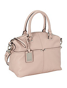 Polished Pocket Convertible Satchel by Tignanello