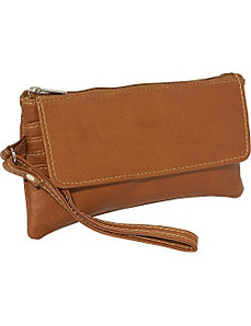 Flap-Over Wristlet by Piel